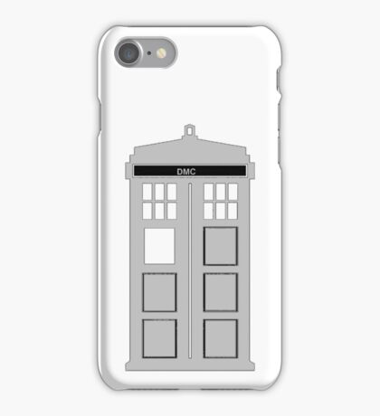 Time Machine, TARDIS DMC iPhone Case/Skin