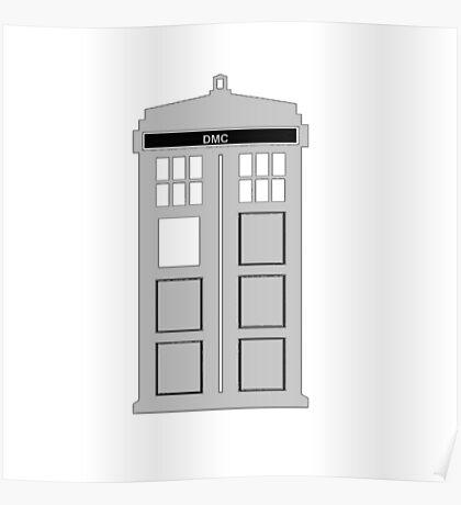 Time Machine, TARDIS DMC Poster