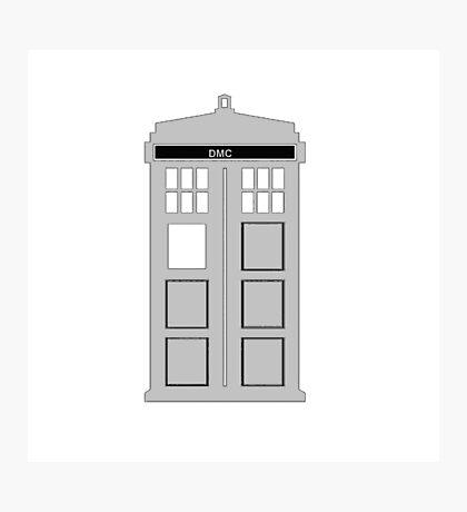 Time Machine, TARDIS DMC Photographic Print