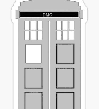 Time Machine, TARDIS DMC Sticker