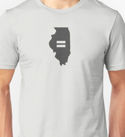 illinois Equality Unisex T-Shirt