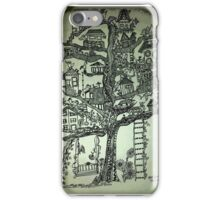 treehouse neighborhood iPhone Case/Skin