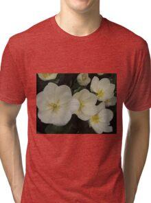 White Tulips Tri-blend T-Shirt
