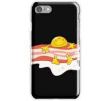 Baсon & Egg Funny Character iPhone Case/Skin