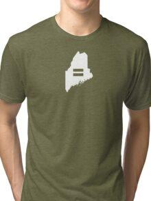 Maine Equality Tri-blend T-Shirt