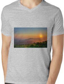 Morning Sunrise Mens V-Neck T-Shirt