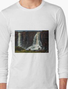 Iguaza Falls - No. 8 Long Sleeve T-Shirt
