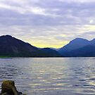 Ennerdale Water Panorama, Cumbria, England by GeorgeOne