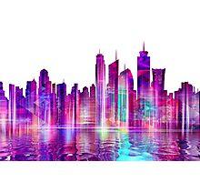 Artistic - XXVI - Abstract Cityscape Photographic Print