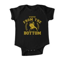 Matthew Lewis - Started from the Bottom Tee One Piece - Short Sleeve
