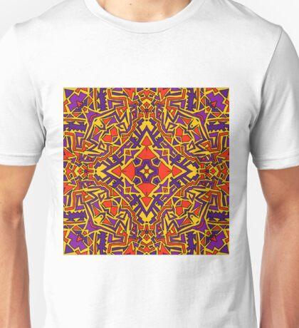 Aztec Square Unisex T-Shirt