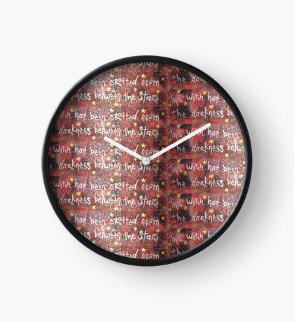 Manon inspired! - Sarah J Maas Throne of glass series character!  Clock
