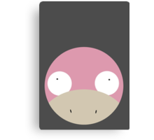 Slowpoke Ball Canvas Print