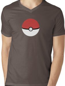 Poke Ball Mens V-Neck T-Shirt
