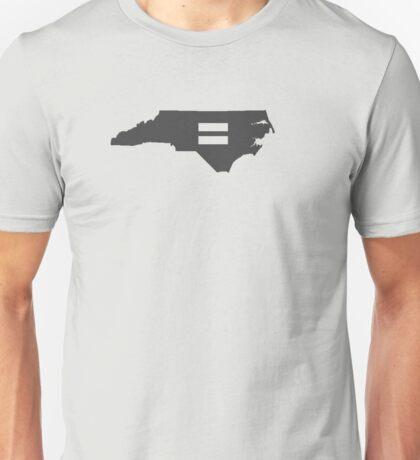 North Carolina Equality Unisex T-Shirt