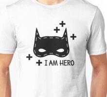 Kids pattern with super hero mask. I am hero Unisex T-Shirt