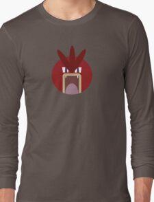 Red Gyarados Ball Long Sleeve T-Shirt