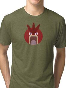 Red Gyarados Ball Tri-blend T-Shirt