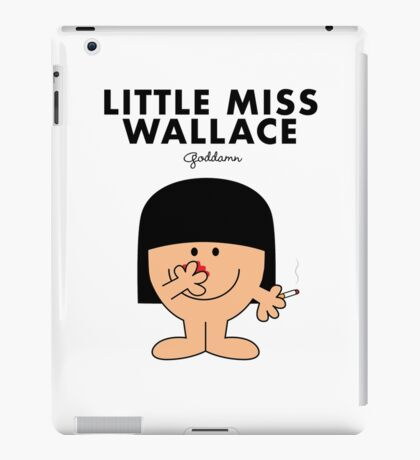 Little Miss Wallace iPad Case/Skin