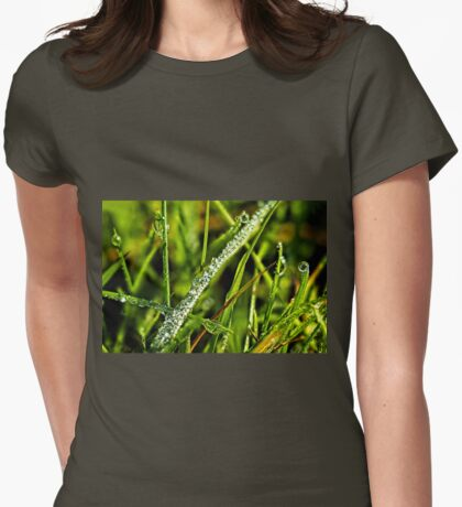 Blades Of Grass Womens Fitted T-Shirt