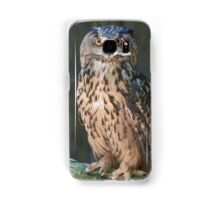 owl in the mountains Samsung Galaxy Case/Skin