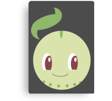 Chikorita Ball Canvas Print