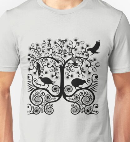 NZ Native Birds Unisex T-Shirt