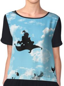 Magic in the Sky Chiffon Top