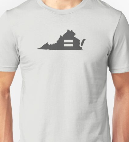 Virgina Equality  Unisex T-Shirt