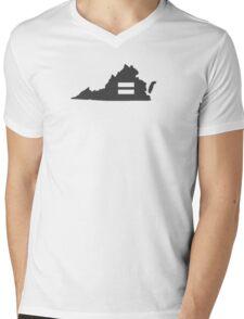 Virgina Equality  Mens V-Neck T-Shirt