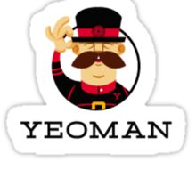 yeoman yo development framework sticker set Sticker