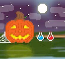Pixel Halloween by MoonSlinger