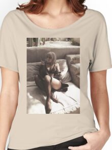 Kylie Jenner smoking Full Women's Relaxed Fit T-Shirt