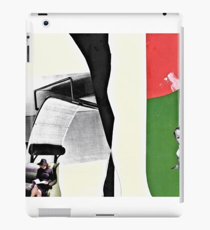 Master Farnsworth had a crush on his babysitter, the young and vivaceous Miss Templeton iPad Case/Skin