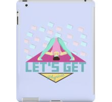Let's Get Physical 80s T-Shirt iPad Case/Skin