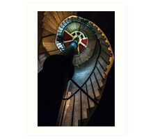 Stairs to the Light Art Print