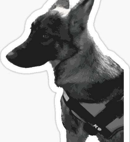 German Shepherd k9 Sticker