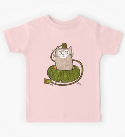 Knit One Purrl One Kids Tee