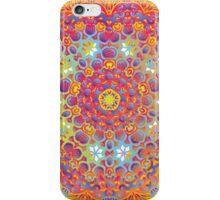 Psychedelic jungle kaleidoscope ornament 15 iPhone Case/Skin
