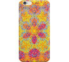 Psychedelic jungle kaleidoscope ornament 16 iPhone Case/Skin
