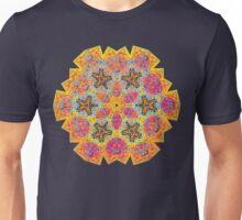 Psychedelic jungle kaleidoscope ornament 16 Unisex T-Shirt