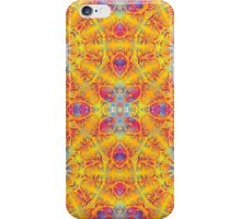 Psychedelic jungle kaleidoscope ornament 17 iPhone Case/Skin