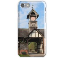 Arley Hall Clock Tower iPhone Case/Skin