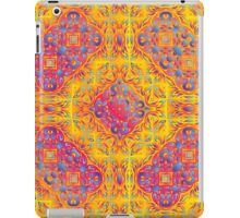 Psychedelic jungle kaleidoscope ornament 18 iPad Case/Skin