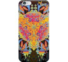 Psychedelic jungle kaleidoscope ornament 20 iPhone Case/Skin