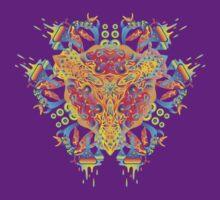 Psychedelic jungle kaleidoscope ornament 20 T-Shirt