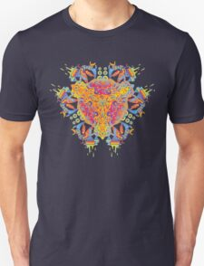 Psychedelic jungle kaleidoscope ornament 20 T-Shirt