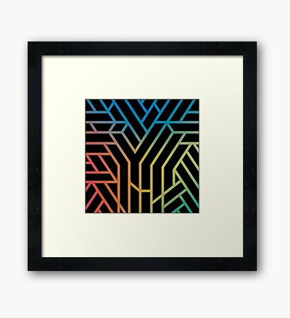 Years & Years Cover Art Framed Print