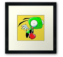 Gir Love Angel Framed Print