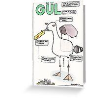 Seagull Assembly Instructions Greeting Card
